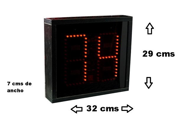 display bingo medidas