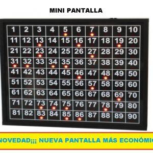 pantalla bingo
