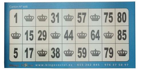 carton xl bingo
