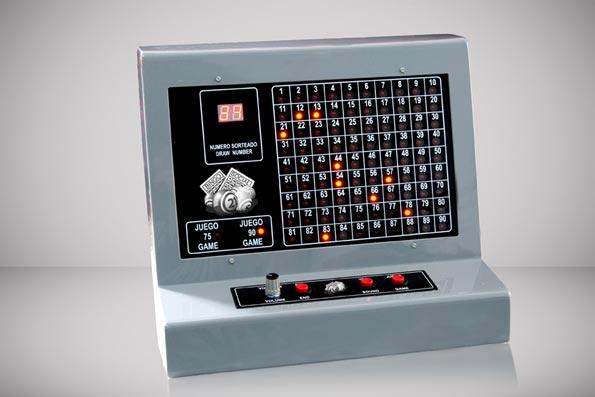 computer bingo machine