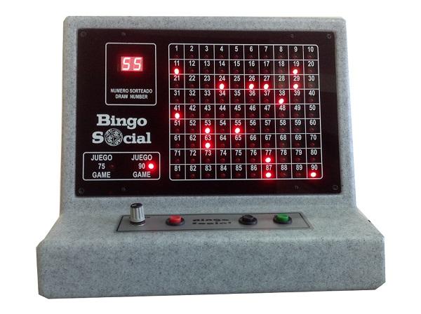 bingo electronico gris